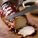 Guinness & Honey-Glazed Pork Loin